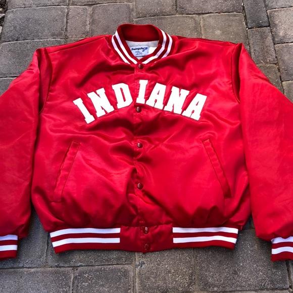 """Vintage Swingster """"Indiana"""" Satin Jacket"""